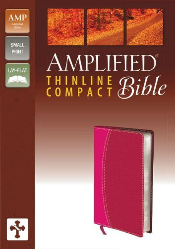 9780310432326: The Amplified Bible: Amplified Italian Duo-Tone, Magenta/Razzleberry, Thinline Compact, Ribbon Marker