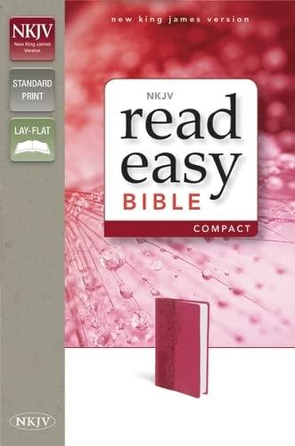 9780310432456: NKJV, ReadEasy Bible Compact, Imitation Leather, Pink