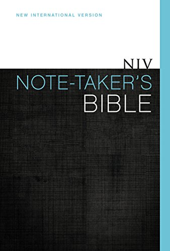 9780310432593: NIV, Note-Taker's Bible, Hardcover