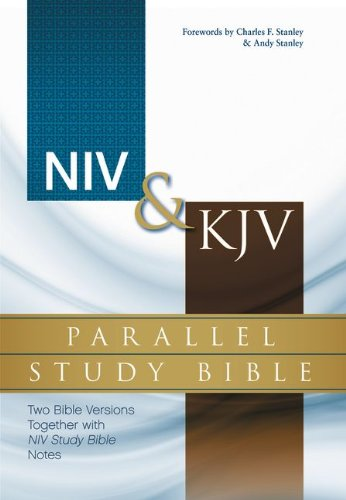9780310432739: NIV, KJV, Parallel Study Bible, Hardcover: Two Bible Versions Together with NIV Study Bible Notes