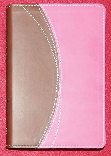 9780310432906: NIV Compact Thinline Bible by Zondervan Duo-Tone Chocolate/Pink Imitation Leather
