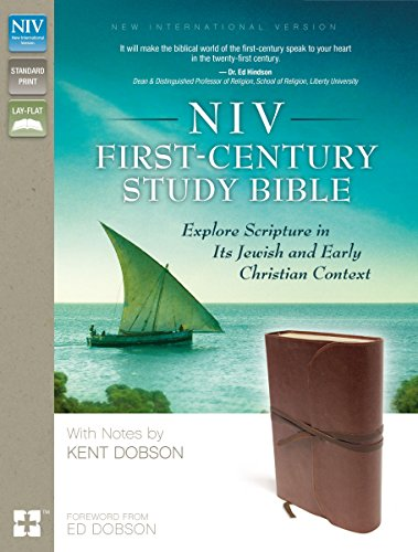 9780310433750: NIV, First-Century Study Bible, Imitation Leather, Brown: Explore Scripture in Its Jewish and Early Christian Context