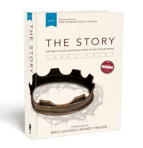 9780310433873: NIV, The Story, Large Print, Hardcover: The Bible as One Continuing Story of God and His People
