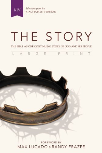 9780310433897: KJV, The Story, Large Print, Hardcover: The Bible as One Continuing Story of God and His People