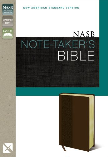 NASB NOTE TAKERS BIBLE Format: Slides