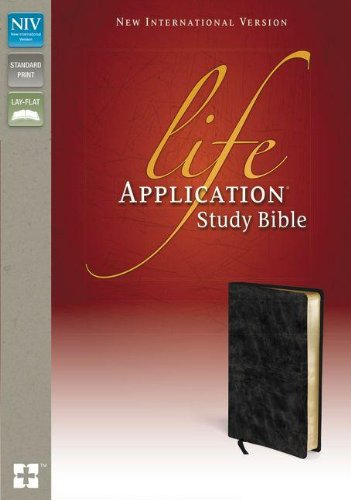 Life Application Study Bible-NIV (Bonded Leather): Zondervan