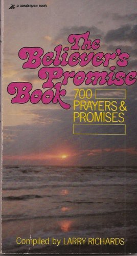 9780310434627: Believer's Promise Book: Seven Hundred Prayers and Promises from the Niv