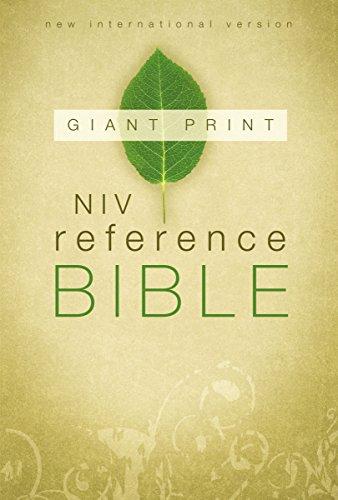 Reference Bible-NIV-Giant Print
