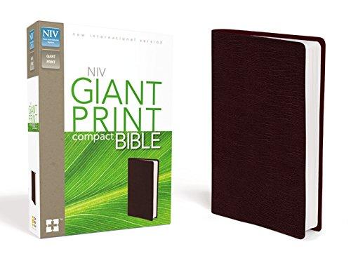 9780310435303: NIV Giant Print Compact Bible
