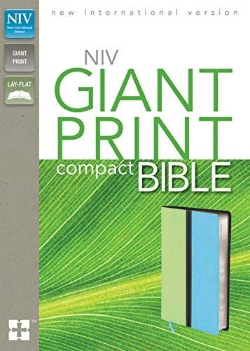 Compact Bible-NIV-Giant Print (Imitation Leather): Zondervan Publishing