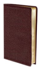 9780310435440: NIV, Thinline Bible, Compact, Bonded Leather, Burgundy, Red Letter Edition