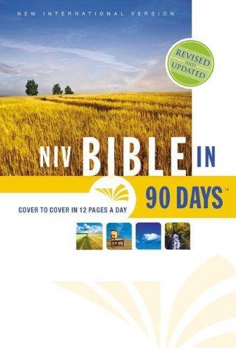 9780310435594: NIV, Bible in 90 Days, Hardcover