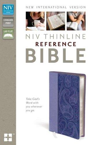 9780310436331: NIV Thinline Reference Bible (Italian Duo-Tone)