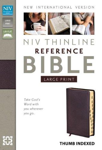 NIV Thinline Reference Bible: Zondervan