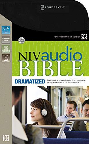 NIV, Audio Bible, Dramatized, Audio CD: Zondervan
