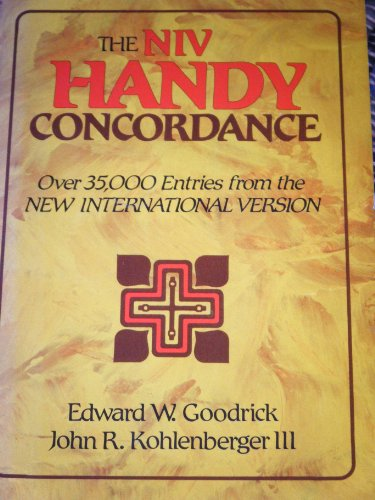 9780310436621: Niv Handy Concordance