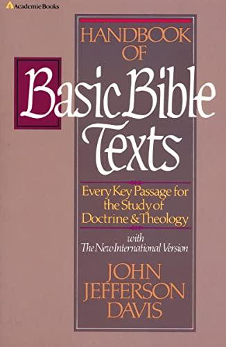 Handbook of Basic Bible Texts (0310437113) by Davis, John Jefferson