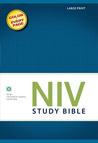 9780310437550: NIV Study Bible, Red Letter Edition
