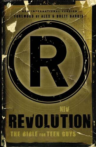 9780310437796: NIV, Revolution: The Bible for Teen Guys, Hardcover: Updated Edition