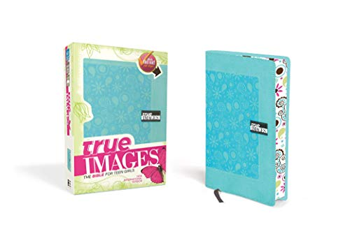 9780310437833: NIV, True Images: The Bible for Teen Girls, Imitation Leather, Turquoise
