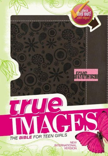 9780310437840: NIV, True Images: The Bible for Teen Girls, Imitation Leather, Brown