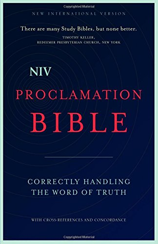 9780310437956: NIV, Proclamation Bible, Hardcover: Correctly Handling the Word of Truth