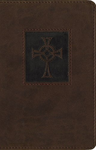 9780310438182: NIV, Thinline Bible, Compact, Imitation Leather, Brown, Red Letter Edition