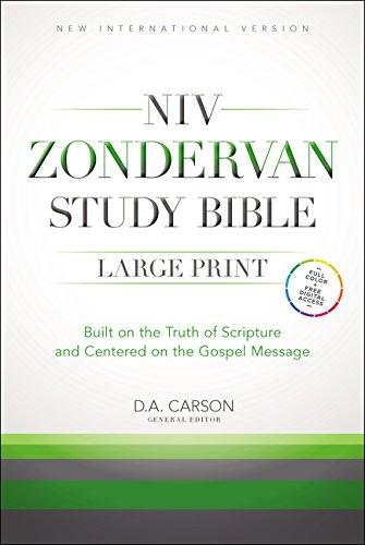 9780310438281: Zondervan Study Bible: New International Version
