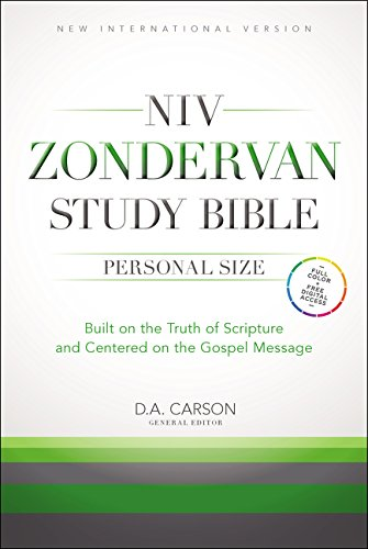 9780310438311: NIV Zondervan Study Bible, Personal Size, Hardcover: Built on the Truth of Scripture and Centered on the Gospel Message