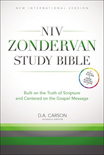 9780310438335: NIV Zondervan Study Bible, Hardcover: Built on the Truth of Scripture and Centered on the Gospel Message