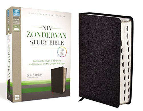9780310438397: NIV Zondervan Study Bible, Indexed, Bonded Leather