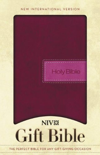 9780310438434: Holy Bible: New International Version, Razzleberry, Italian Duo-Tone, Gift Bible