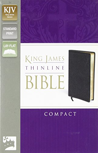 9780310439196: KJV, Thinline Bible, Compact, Bonded Leather, Red Letter Edition