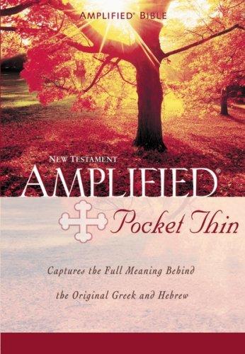 9780310439295: Amplified Pocket-Thin New Testament-Am (Bible)