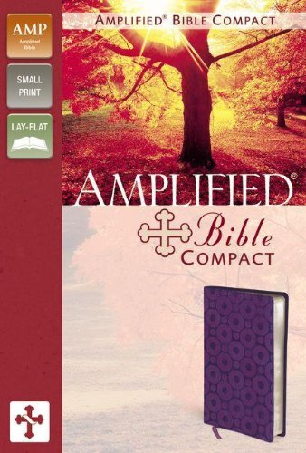 9780310439325: Amplified Bible, Compact, Imitation Leather, Purple