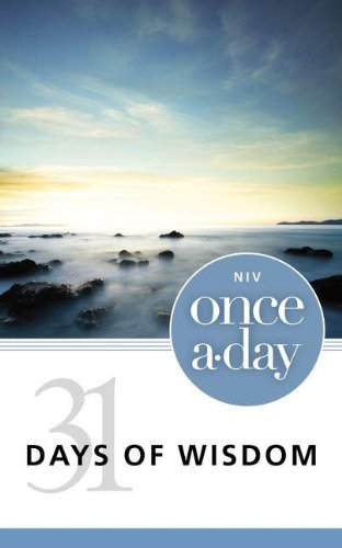 9780310440857: NIV Once-A-Day 31 Days of Wisdom