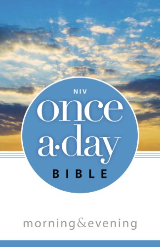 NIV, Once-A-Day Morning and Evening Bible, Paperback: Kenneth D. Boa