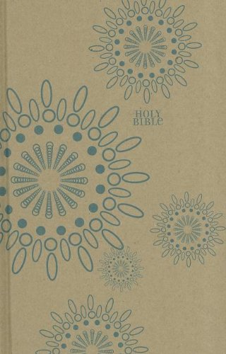 9780310440987: NIV, Thinline Craft Collection Bible, Hardcover, Tan/Blue, Red Letter Edition