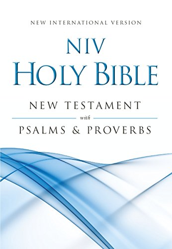 9780310441380: NIV, Holy Bible New Testament with Psalms and Proverbs, Pocket-Sized, Paperback, Blue