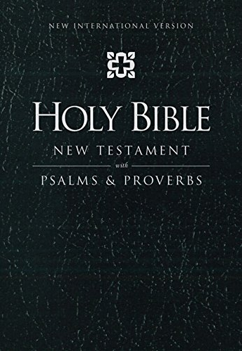 9780310441397: NIV, Holy Bible New Testament with Psalms and Proverbs, Pocket-Sized, Imitation Leather, Black