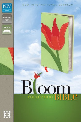 9780310441403: NIV, Bloom Collection Bible, Imitation Leather, Red, Red Letter Edition