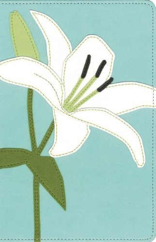 9780310441434: Bloom Collection Bible-NIV-White Lily
