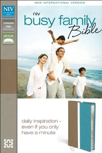 9780310441670: NIV Busy Family Bible: Daily Inspiration Even If You Only Have a Minute