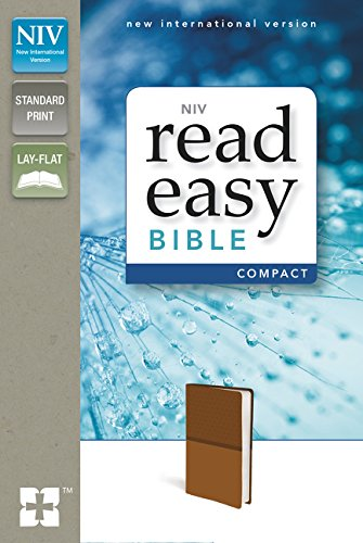 9780310441700: NIV, ReadEasy Bible, Compact, Imitation Leather, Tan, Red Letter Edition