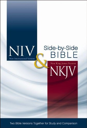 9780310441793: NIV, NKJV, Side-by-Side Bible, Hardcover: Two Bible Versions Together for Study and Comparison