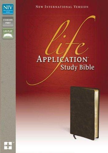 NIV Life Application Study Bible: Zondervan Publishing