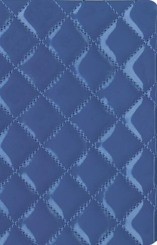 9780310443049: NIV, Quilted Collection Bible, Compact, Imitation Leather, Blue