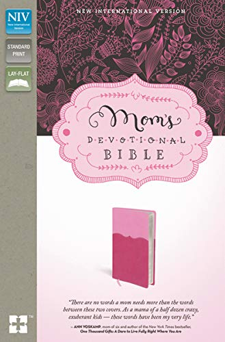 9780310443377: NIV, Mom's Devotional Bible, Leathersoft, Pink