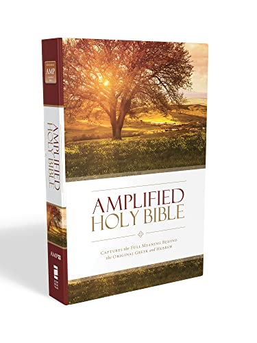 9780310443872: Amplified Holy Bible, Hardcover: Captures the Full Meaning Behind the Original Greek and Hebrew