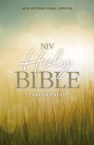 9780310446149: NIV, Holy Bible, Larger Print, Paperback
